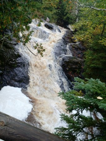 Lutsen, MN: The waterfall in the cascade creek