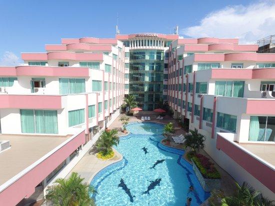 Hotel El Marques: Una foto aérea del hotel