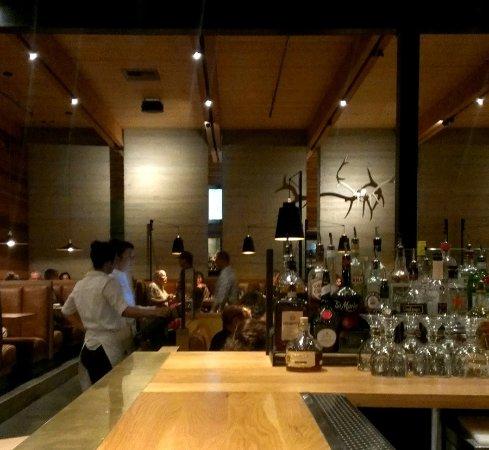 Yakima, Waszyngton: Dining at the bar