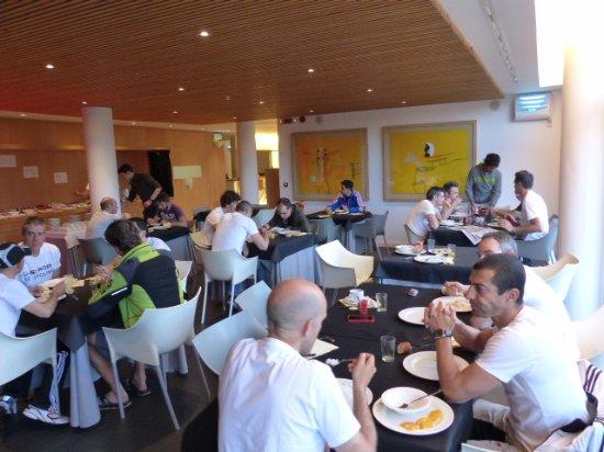Biescas, España: comedor