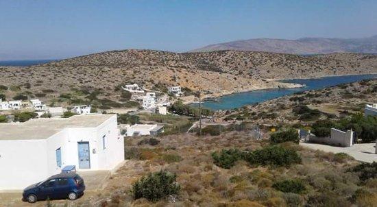 Agnantema: La vista dalla terrazza