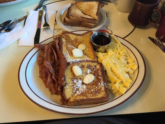 Lancaster, Californie : My delicious french toast...