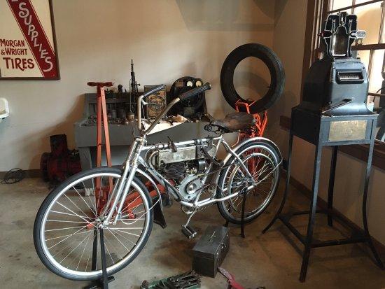 Burnaby Village Museum: Motor Bike