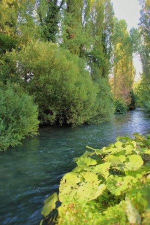Ferentillo il fiume Nera