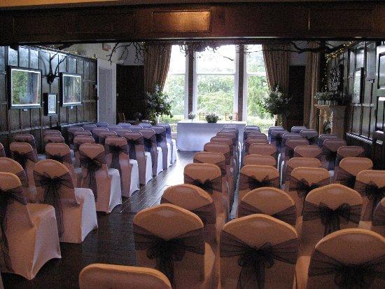 Pateley Bridge, UK: Set for wedding