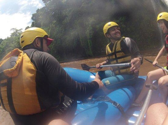 Santa Lucia Cotzumalguapa, Guatemala: Viaje en Rafting por el Río Nahualate, desde el punto de partida en Micro Parcelamiento el Naran