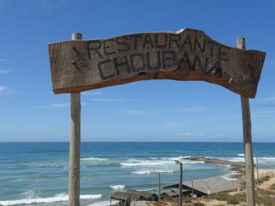 Restaurante A Choupana : Enseigne Choupana
