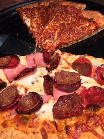 Whitecourt, Canada: Burned pizza.
