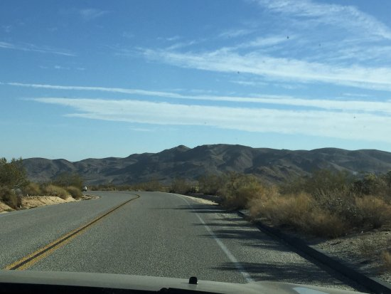 Access to Jumbo Rocks Campground - great roads!!