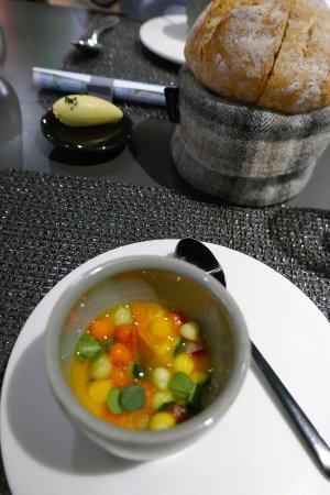 Amuse-bouche - Carrot velouté
