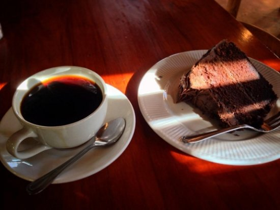 Fort Beaufort, South Africa: Coffee and Cholcolate cake from a previous visit