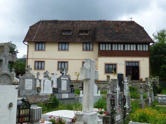 Sibiel, Rumunia: Museo de iconos sobre vidrio