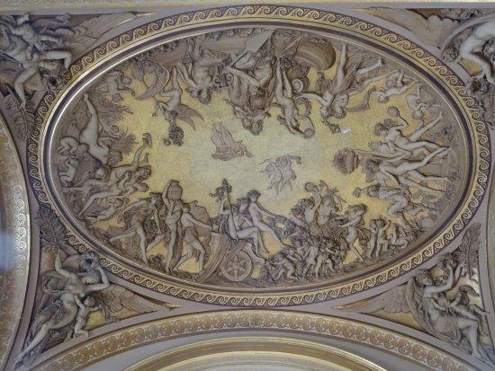 Museu do Louvre: Encore un très beau Plafond Sculpté du Louvre