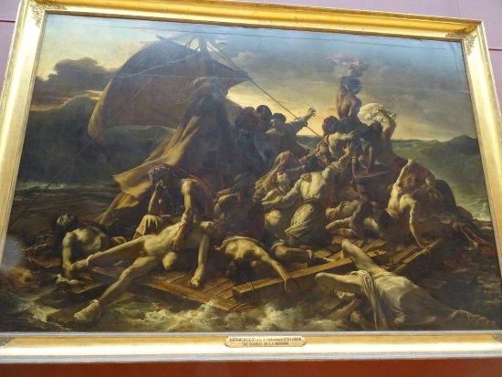 Museu do Louvre: Le Radeau de la Méduse de GERRICAULT