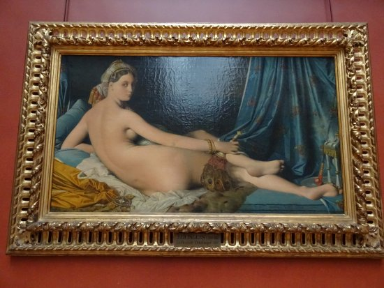 Museu do Louvre: La Grande Odalysque de Jean-Auguste- Dominique INGRES