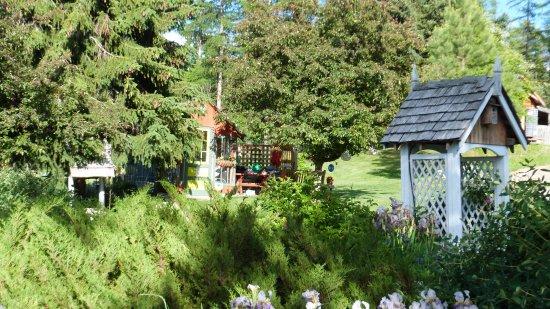 Kimberley, Canada: Le jardin