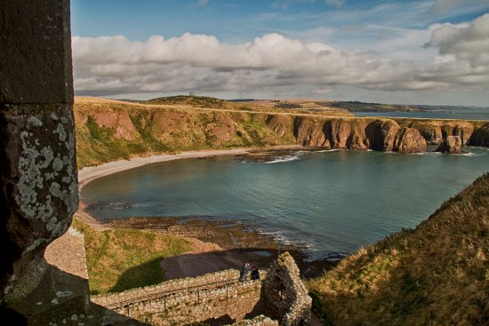 Stonehaven, UK: View from the Castle