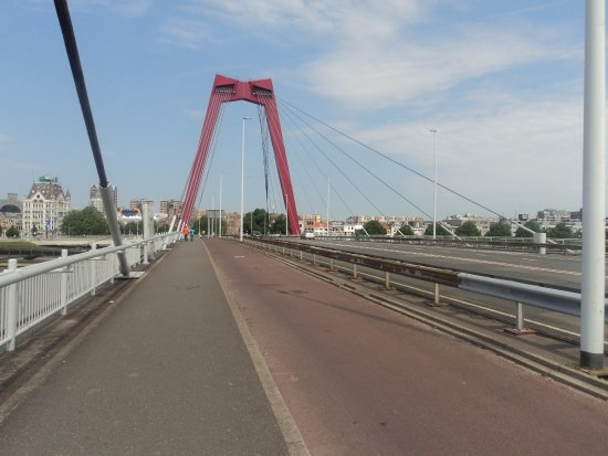 Le pont rouge Picture of Willemsbrug Rotterdam TripAdvisor
