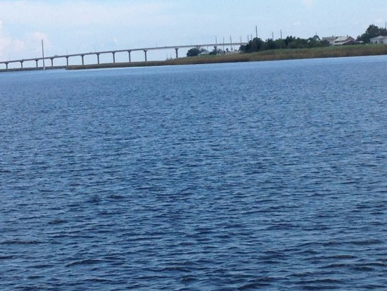 Coming back to the museum on the Apalachicola River