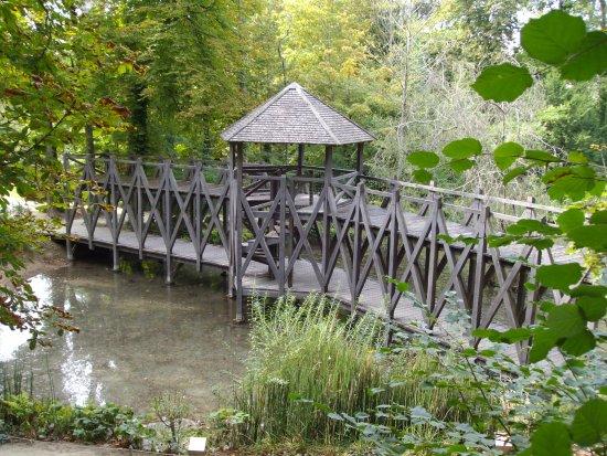 Amboise, فرنسا: Puente sobre un lago