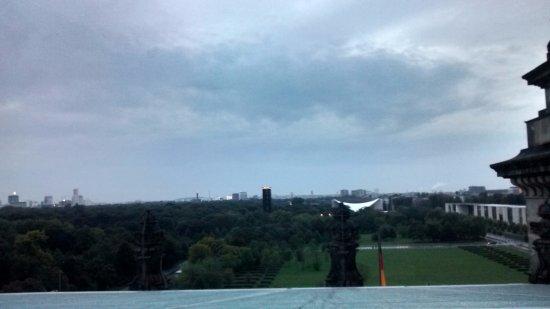 Plenarbereich Reichstagsgebäude: A vista