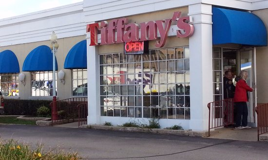 Tiffany S Restaurant Cafe Entrance To