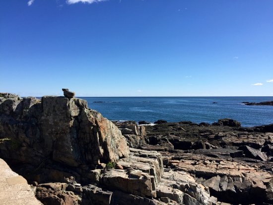 York Harbor, Μέιν: Lovely Cliff walk in York