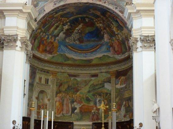 Spoleto, Italië: Affresco absidale di Filippo Lippi