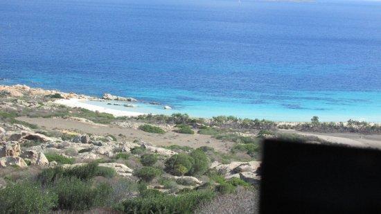 Asinara, Italien: Cala Sant'Andrea - zona rossa....non ci si può accedere