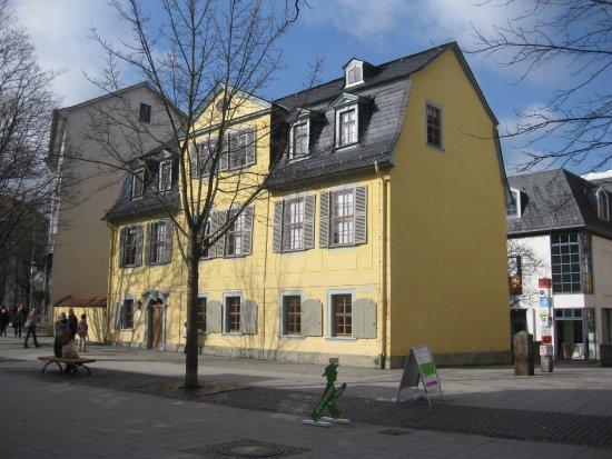 Schillerhaus/Schillerstraße: Schillerhaus Weimar