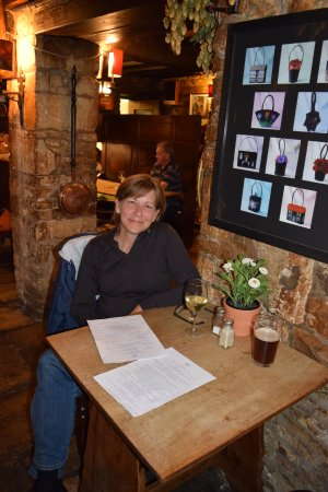 Stow-on-the-Wold, UK: Quaint and lovely dinner spot!