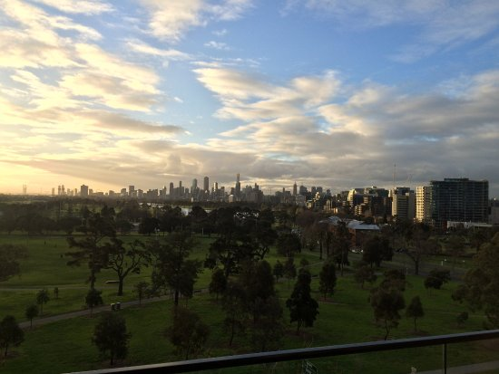 St. Kilda, Australien: fantastic view from the balcony