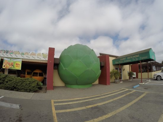 Giant Artichoke Restaurant Castroville Ca Landmark