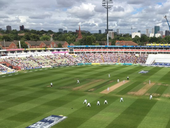 The View From The Motorpoint Stand Picture Of Edgbaston
