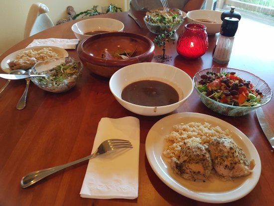 Burnet, TX: Organics healthy meals made by owner.