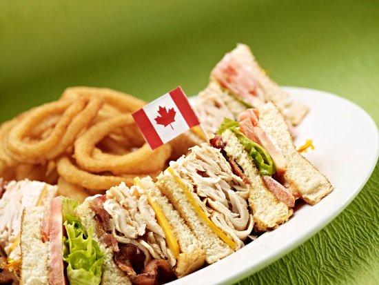 Fort Saskatchewan, Canada : Brewhouse Club Sandwich