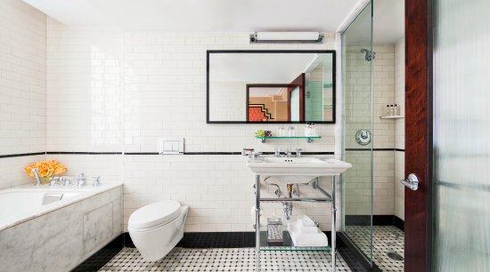 Walker Hotel Greenwich Village Terrace Bathroom