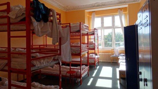 Happy Go Lucky Hotel: Стульчик и лестница для того, чтоб забраться на 3 этаж..