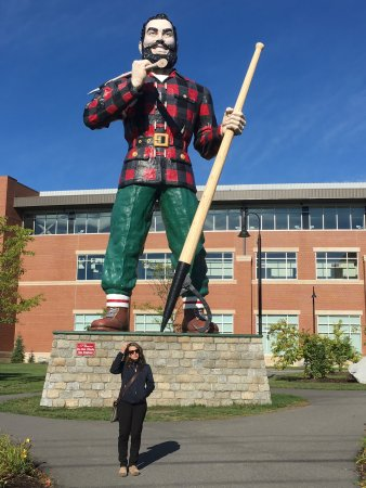 Image result for paul bunyan statue