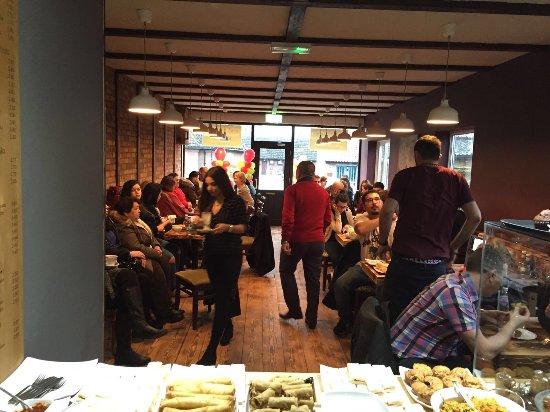 Mildenhall, UK: Rocca Cafe Lounge