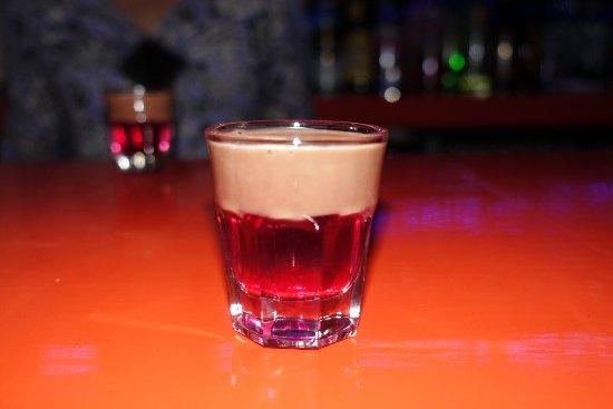 The Amazing Turkish Delight Shot Picture Of Bizarro Drinks Bar
