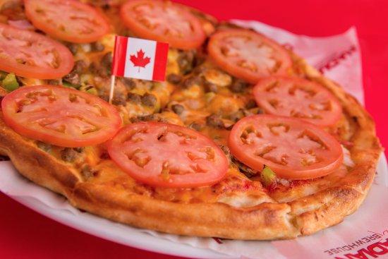 Lloydminster, Canadá: Pizza