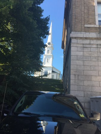 Camden, ME: Lovely church