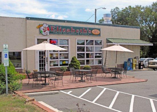 Building Exterior Elizabeth's Pizza Pittsboro, NC