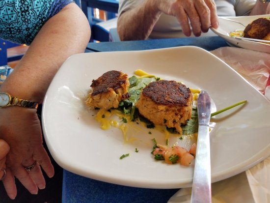 Gulfport, FL: The crab cakes.