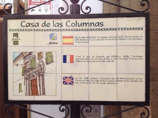 Iznajar, إسبانيا: Casa de las Columnas