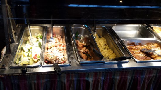 Westminster, Californien: Mexican Buffet Entree Selection 2