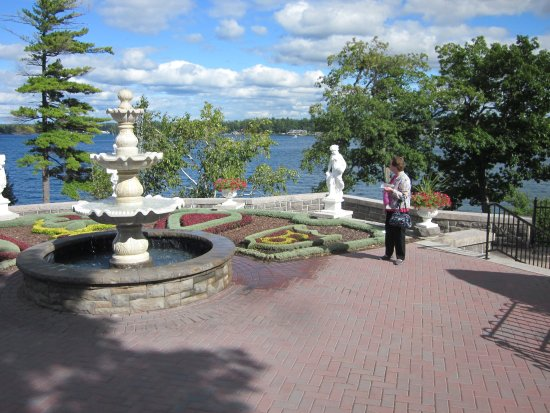 Boldt Castle and Yacht House: The Italian Garden