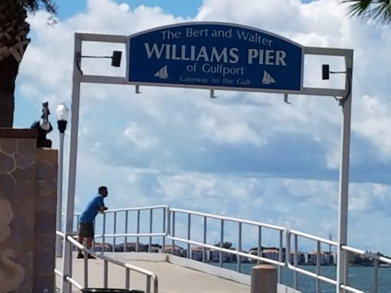 Gulfport, فلوريدا: Williams Pier