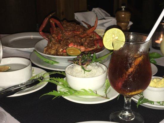 Namale the Fiji Islands Resort & Spa: Dinner time